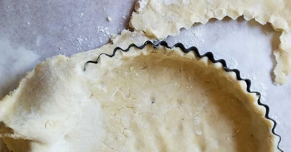 quick pastry crust