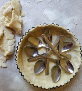 easy blueberry tart